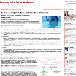 Modern Learning Skills for the Networked Age (Workshop)