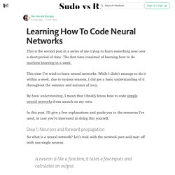 Learning How To Code Neural Networks — Sudo vs Root