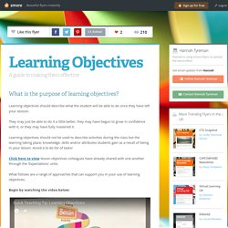 CPD - Learning Objectives