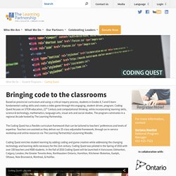 The Learning Partnership – Coding Quest