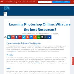 Learning Photoshop Online: What are the best Resources?