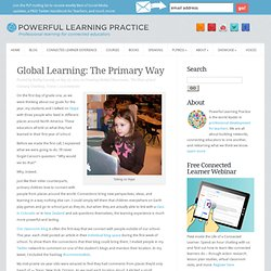 Global Learning: The Primary Way