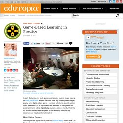 Game-Based Learning in Practice