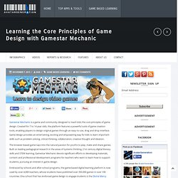 Learning the Core Principles of Game Design with Gamestar Mechanic