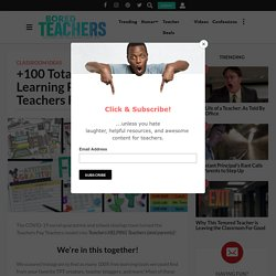 +100 Totally FREE At-Home Learning Printables Made By Teachers For All