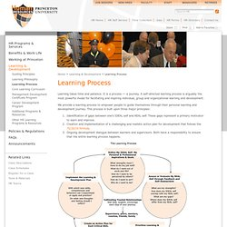 Office of Human Resources - Learning Process