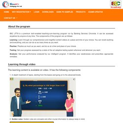 BSC (LPTA ) Learning Program,Bank PO Courses