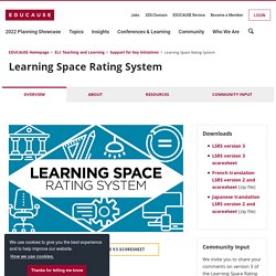 Learning Space Rating System