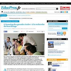 E-learning des grandes écoles : à la recherche du bon dosage