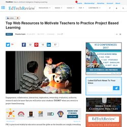 Project Based Learning Resources, Examples