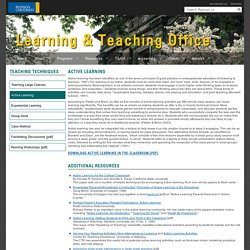 Active Learning - Resources