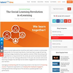 Social learning: the revolution in eLearning