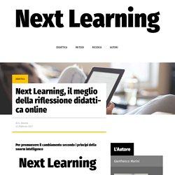Next Learning, il meglio della riflessione didattica online – Next Learning