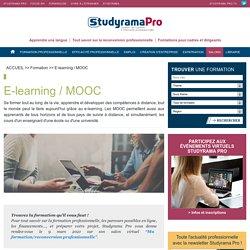 Mooc / e-learning : en savoir plus pour se former - Studyrama Pro