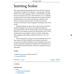 learning Scalaz — learning Scalaz