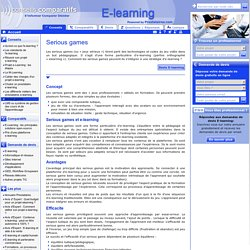 e-learning serious game | E-learning