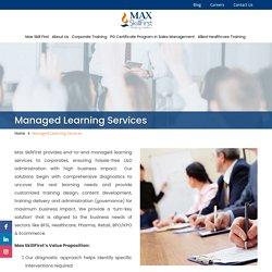 Managed Learning Services, Managed Training