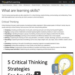 What are learning skills?