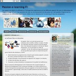 Le software libre en éducation
