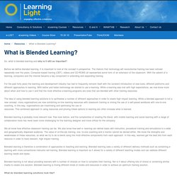 What is Blended Learning? - Solutions and their Importance