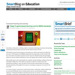 Siege! A game-based learning unit for NGSS standards SmartBlogs