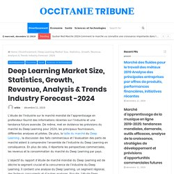 Deep Learning Market Size, Statistics, Growth, Revenue, Analysis & Trends Industry Forecast -2024 – Tribune Occitanie