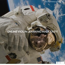 Online Violin Learning Made Easy