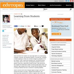 Learning From Students
