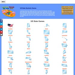 US State Learning Games For Kids - State Symbols, State Trivia. State Videos and Puzzles