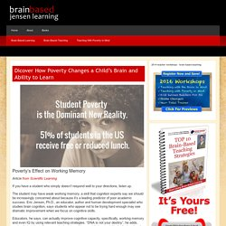 Brain Based Learning and Brain Based Teaching Articles From Jensen Learning