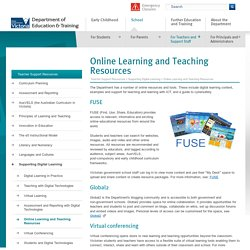 Online Learning and Teaching Resources