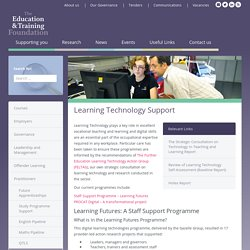 Learning Technology Support
