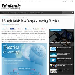 A Simple Guide To 4 Complex Learning Theories