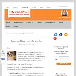 Learning Theory and Multimedia