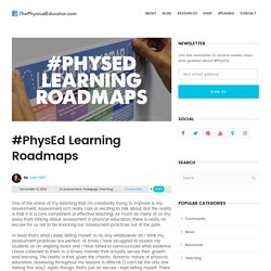 #PhysEd Learning Roadmaps - ThePhysicalEducator.com