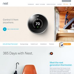 The Learning Thermostat | Living With Nest