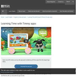 Learning Time with Timmy apps
