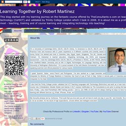Learning Together by Robert Martínez: About Me