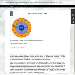 BBC Learning Design Toolkit