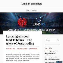land-fx bonus