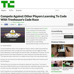 Compete Against Other Players Learning To Code With Treehouse's Code Race