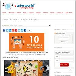 E-Learning Trends to Follow in 2015 - eTutorWorld Blog