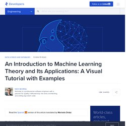 A Machine Learning Tutorial with Examples
