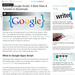 Learning Google Script: 5 Best Sites & Tutorials to Bookmark