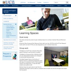 Learning Spaces - University College Birmingham