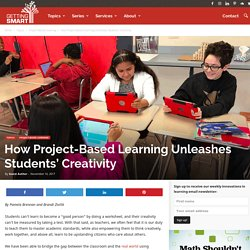 How Project-Based Learning Unleashes Students' Creativity