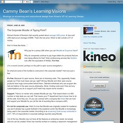 Cammy Bean's Learning Visions: The Corporate Moodle: A Tipp