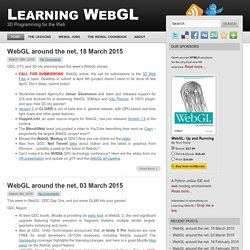 Learning WebGL