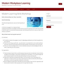 Modern Learning Strategies Workshop