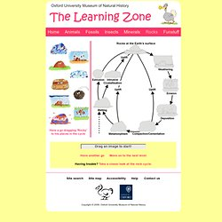 The Learning Zone: Rock Cycle Games